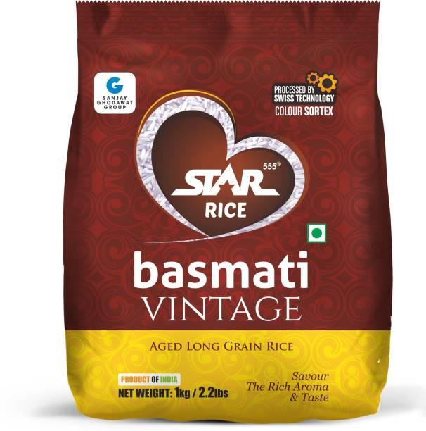 STAR 555 Rice basmati vintage Basmati Rice (Long Grain)