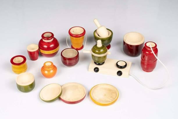 Smartcraft Kitchen Set Premium, Wooden Modern Kitchen Set Toys