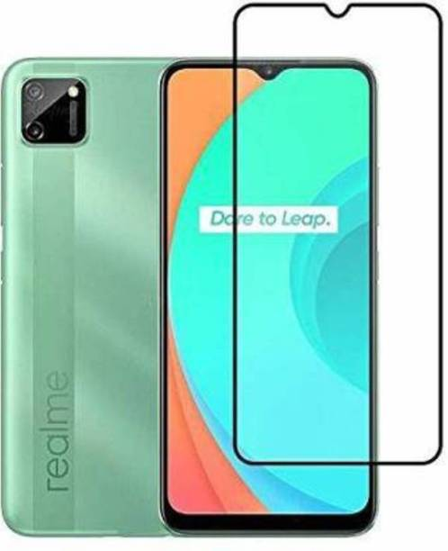 Desirtech Edge To Edge Tempered Glass for Realme Narzo 20, Realme Narzo 20A, Realme C11, Realme C12, Realme C15, Realme C3, Realme 5, Realme 5i, Realme 5s, Oppo A9 2020, Oppo A5 2020, Realme Narzo 10, Realme Narzo 10A, Oppo A31
