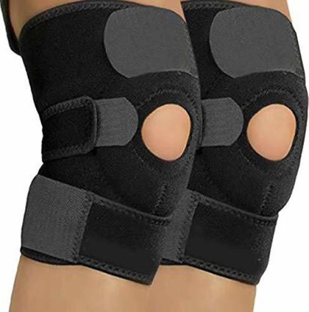 Manogyam Adjustable Knee Cap Support Brace for Sports, Gym, Running, Arthritis Knee Support