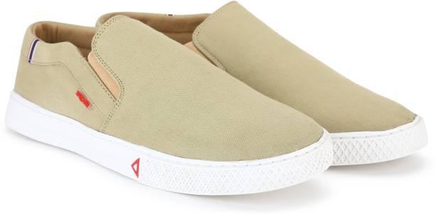 WROGN Slip On Sneakers For Men