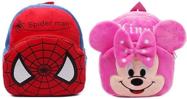 proera Spiderman & Minnie Plush Bag