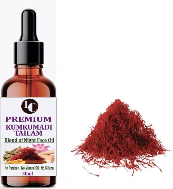 INDO CHALLENGE Kumkumadi Premium Oil Enriched For Glowing,Spotless,Anti-Ageing & Radiant Skin