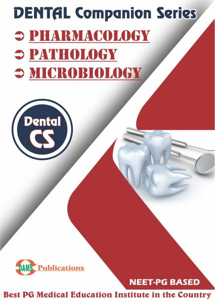 DAMS Dental Companion Series 2020 Combo of (Pharmacology, Pathology, Microbiology)