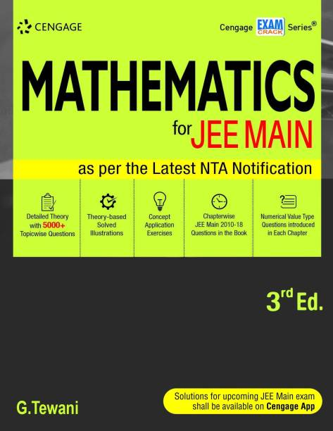 Mathematics for Jee Main Third Edition