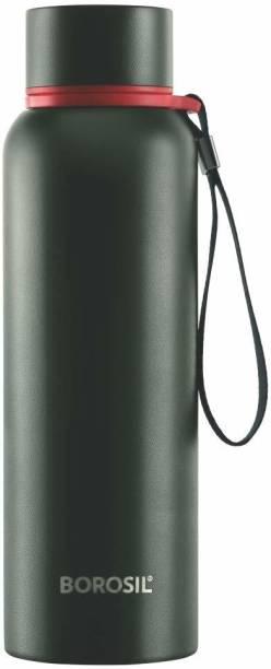 BOROSIL Trek Stainless Steel Bottle - Vacuum Insulated Flask 700 ml Flask
