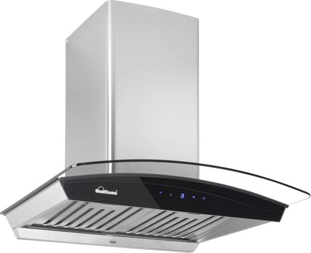 SUNFLAME CH DAHLIA 60 SS AC DX Auto Clean Wall Mounted Chimney