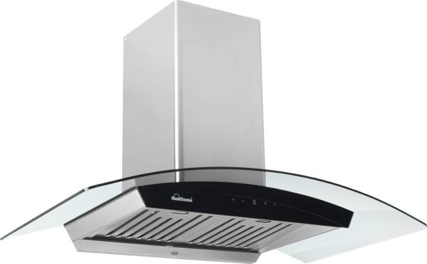 SUNFLAME CH DAHLIA 90 SS AC DX Auto Clean Wall Mounted Chimney