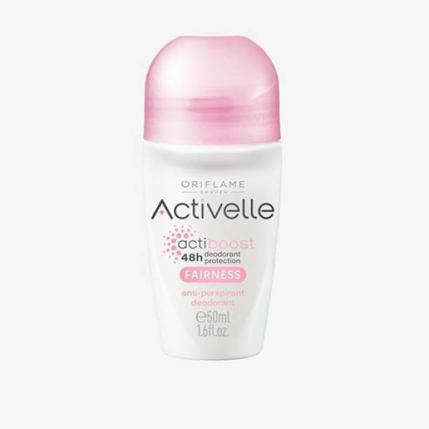 Oriflame Activelle Fairness Anti-perspirant Deodorant Deodorant Roll-on  -  For Men & Women
