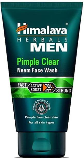 HIMALAYA Since 1930 Men Pimple Clear Neem  50ml Pack of 2 Face Wash