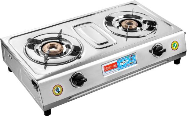 Care Flame Care Flame SS-1 Stainless Steel Manual Gas Stove