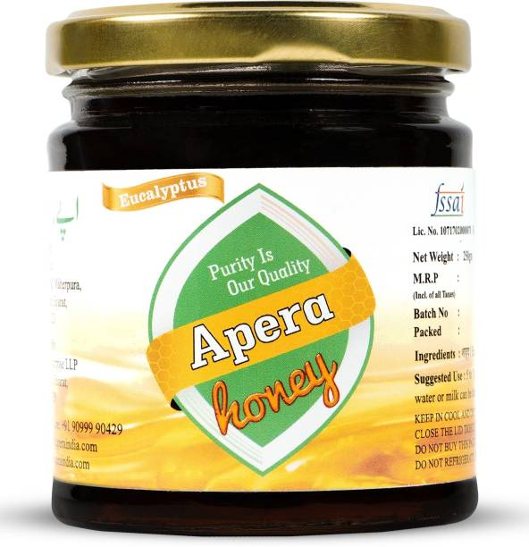 APERA Pure And Natural |Unpasteurized | Eucalyptus Forest Honey - 250g