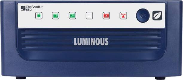 LUMINOUS Eco Watt+ 650 Home UPS Square Wave Inverter