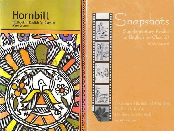 English Ncert Class 11, English Textbook Class 11, Hornbill & Snapshot New With Lamination
