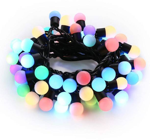 TIED RIBBONS 100 inch Multicolor Rice Lights