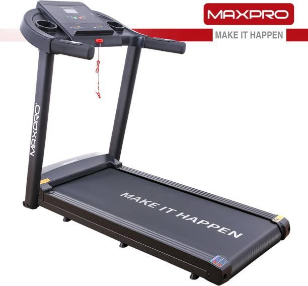 Maxpro PTM 101 1.5HP (3 HP Peak) Motorized Easy Assembly Treadmill with LCD Display, I PAD Holder, MP3 Player Treadmill