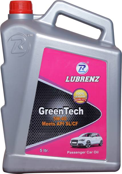 LUBRENZ 5W40 GREEN TECH MEETS API SL/CF-4 High Performance Engine Oil