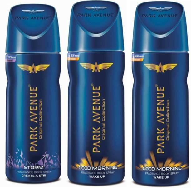 PARK AVENUE 2 Good Morning and Storm Deodorant Spray  -  For Men