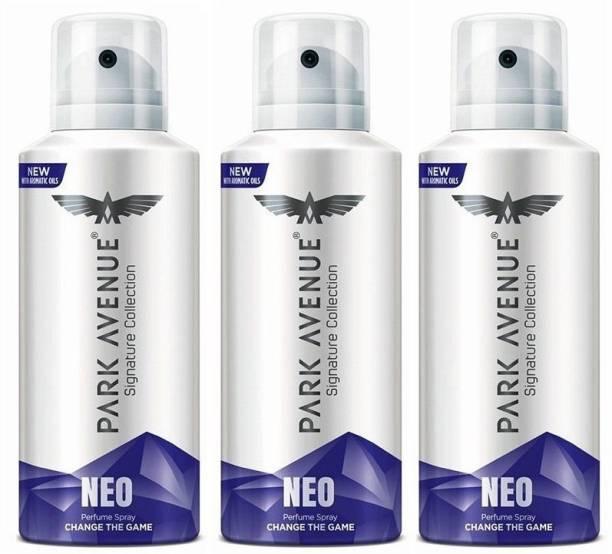 PARK AVENUE NEO 140 ml each Perfume Body Spray  -  For Men