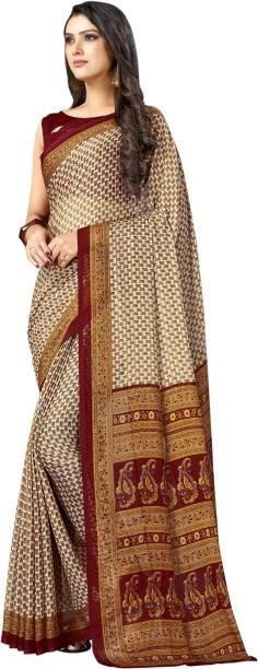 Samah Printed Fashion Chiffon Saree