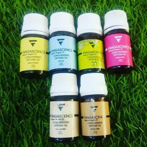 Hriday Rose, Lavender, Mogra, Jasmine, Vanilla, Sandal Aroma Oil, Diffuser, Potpourri, Diffuser Set, Refill