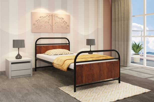 homdec Capricorn Metal Single Bed