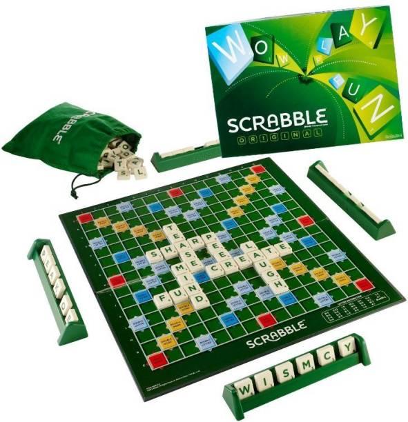RVDVS SELLER SCRRABLE BOARD GAME Word Games Board Game