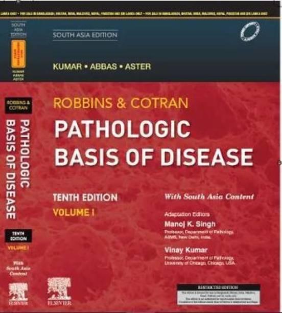 Robbins & Cotran Pathologic Basis of Disease, 10e: South Asia Edition, 2 Vol SET