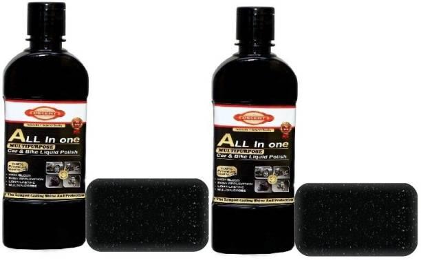 Decent Liquid Car Polish for Tyres, Leather, Dashboard, Metal Parts, Exterior