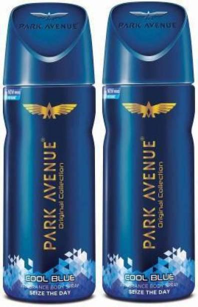 PARK AVENUE 2-COOL BLUE deodorant Body Spray  -  For Men