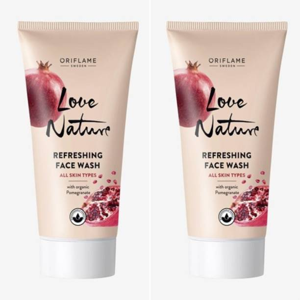 Oriflame Sweden Love Nature Refreshing  with Organic Pomegrante Face Wash