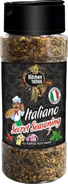 KITCHEN TADKA |Italian|Pizza|Pasta|Seasoning|Powder|Herbs Mix|Dispenser pack Bottle|