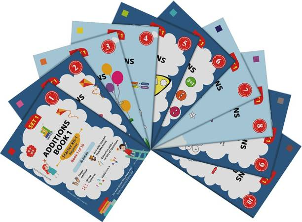 Learn To Add - First Book Of Addition For 4-6 Year Olds In UKG Or Grade 1