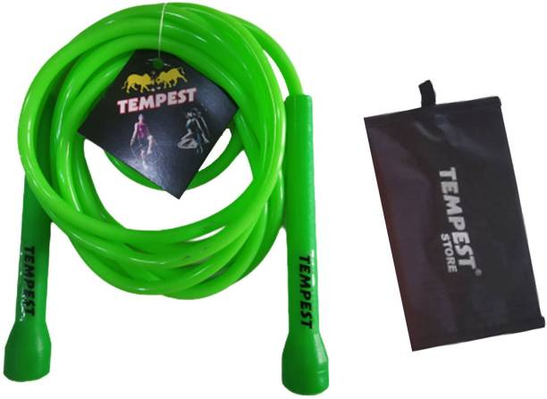 Tempest Skipping Rope for Home Exercise,Workout,Sports with Free Personal Gym Carry Bag Freestyle Skipping Rope