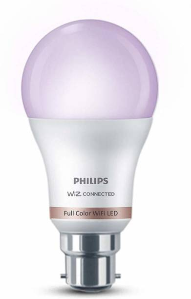 PHILIPS Smart Wi-Fi LED Bulb WiZ Connected B22 10-Watt Smart Bulb