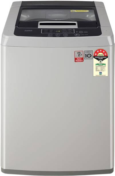 LG 7 kg 5 star Fully Automatic Top Load Silver