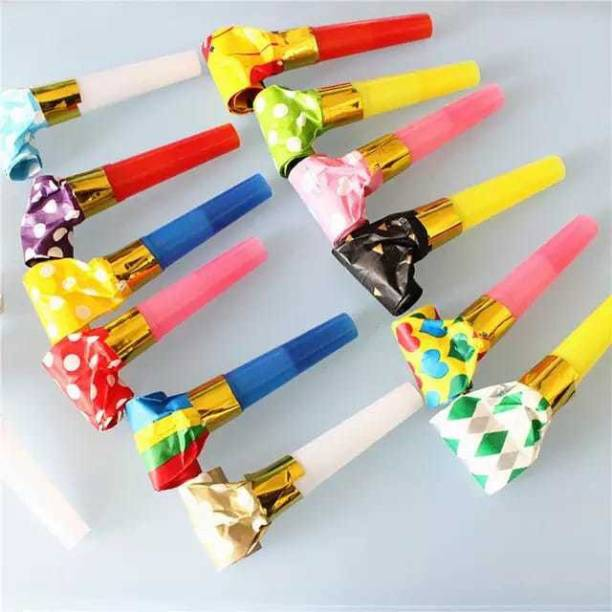 gorgeous moment [whistles] multicolor whistle kids birthday party decoation Squeeze Whistle