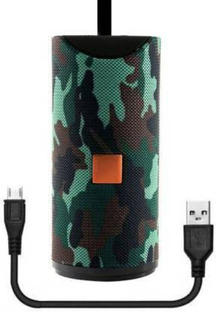 STYLELTROICS Best Buy Powerful sound blast with ultra deep 3d bass New arrival W2FD9 waterproof/splashproof mini dynamite thunder sound Wireless Bluetooth Speaker for car/laptop/home audio & with bose gaming supports usb/fm/tf card & line in aux 13 W Bluetooth Speaker