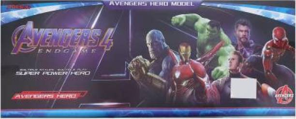 GAURAV TRADERS Avengers Endgame Action Figure of 5 Super Heroes (Deluxe Size) (Red, Green, Purple, Blue, Multicolor)