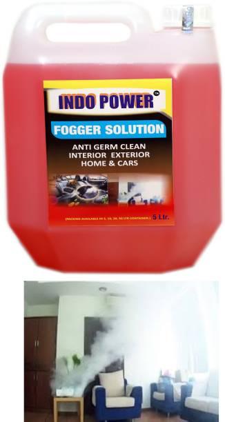 INDOPOWER F05- FOGGER SOLUTION Anti Germ Clean (Interior Exterior Home & Cars ) .