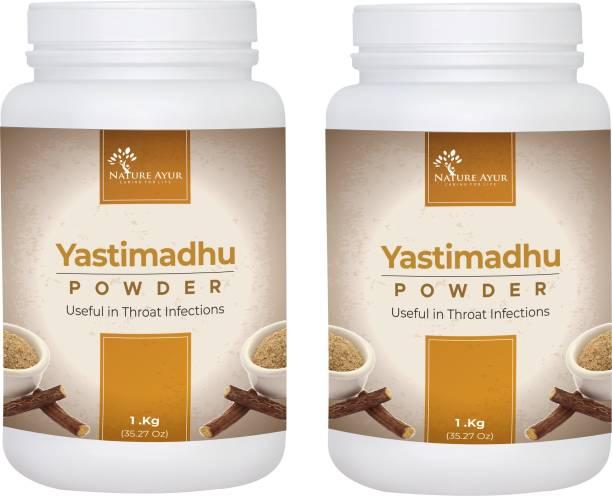 SRI NATURE AYUR YASTIMADHU POWDER 1kg (Pack of 2)