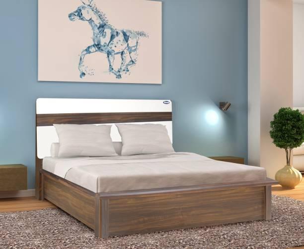 Nilkamal Lodgy Engineered Wood King Hydraulic Bed