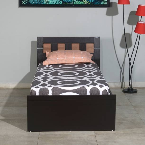 Nilkamal Reegan Engineered Wood Single Box Bed