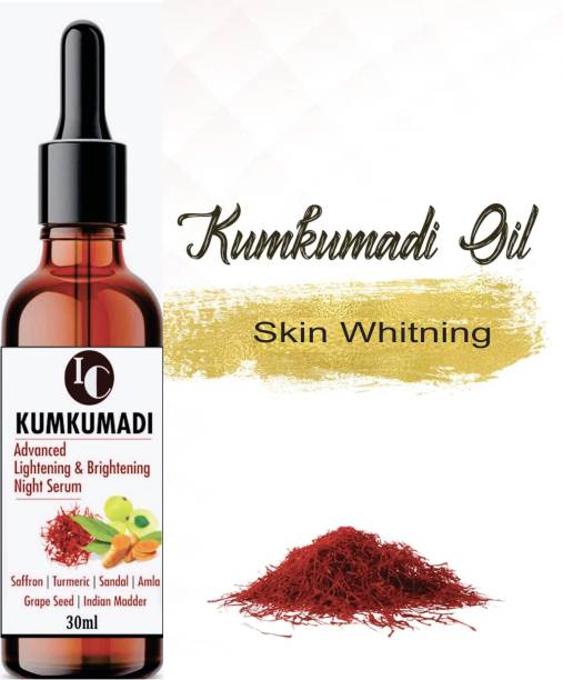INDO CHALLENGE Kumkumadi tailam Advanced Oil for skin lightening, Anti-ageing, Night serum for face and glowing skin