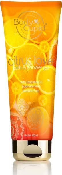 Body Cupid Citrus Love Shower Gel - 200 mL - No Sulphates,No Parabens