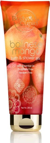 Body Cupid Balinese Mango Shower Gel - 200 mL- No Sulphate,No Paraben