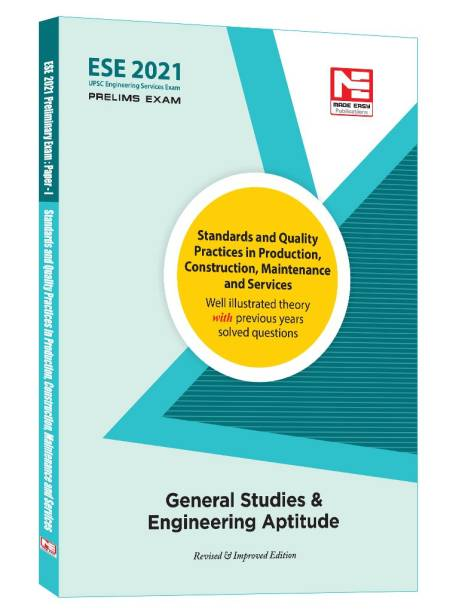 ESE (Prelims) 2021 Gs - Standards and Quality Practices in Production,Construction,Maintenance and Services