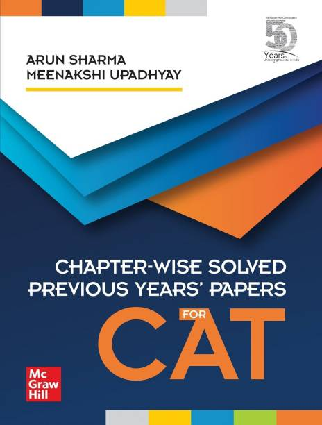 Chapter-Wise Solved Previous Years' Papers for Cat