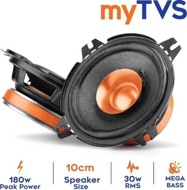 """MYTVS SDC41 4"""" Dual Cone Car Speakers with mega bass Coaxial Car Speaker"""