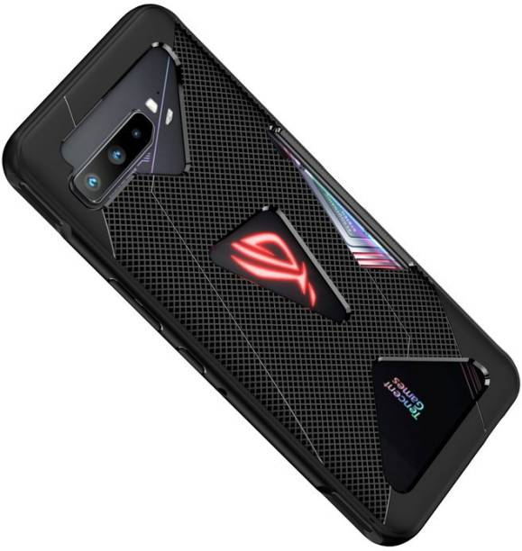 Cover Alive Back Cover for Asus Rog Phone 3, Plain, Case